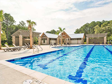 Beautiful residents club pool | recreation area