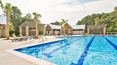 Carolina Park olympic size pool Charleston homes community