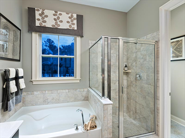 Ryland homes bathroom | Carolina Park homes | Ryland homes charleston
