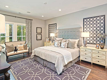 Ryland homes master bedroom | Carolina Park | Ryland homes charleston
